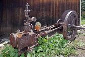Eski paslı makine — Stok fotoğraf