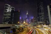 香港美丽夜景 — 图库照片