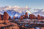 Turret Arch, Utah — Stock Photo
