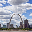 City of St. Louis Skyline, Missouri, USA — Stock Photo #22760672