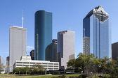 Houston şehir merkezinde, texas — Stok fotoğraf