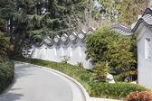 Oriental Garden Surrounding Wall — Stock Photo
