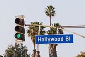 Hollywood Boulevard Sign — Stock Photo
