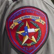 Texas Highway Patrol Badge — 图库照片