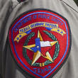 Texas Highway Patrol Badge — Stock Photo