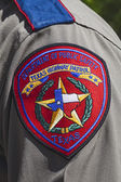 Texas Highway Patrol Badge — Stock Photo