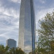 The Devon Tower in downtown Oklahoma City, Oklahoma — Stok fotoğraf