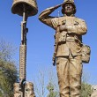 Stock Photo: Statue of AmericSoldier