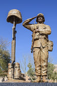 Statue of American Soldier — Stock Photo