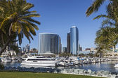 Marina Bay at San Diego — Stock Photo