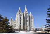 Mormon Temple - The Salt Lake Temple, Utah — Stock Photo