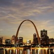 City of St. Louis Skyline — Stock Photo