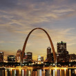 Постер, плакат: City of St Louis Skyline