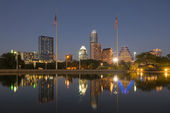 Austin at Night, Texas — Stock Photo
