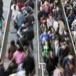 People at Rush Hour - Motion Blur — Stock Photo #42301641
