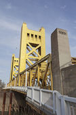 Tower Bridge at Sacramento — Stockfoto
