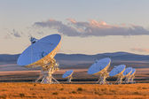 Very Large Array Satellite Dishes — Stock Photo