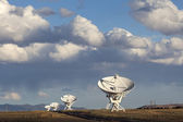 Very Large Array Satellite Dishes — Stockfoto