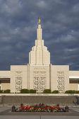 Mormon Temple in Idaho Falls, ID — Stock Photo