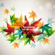 Abstract autumn background - Stock Vector