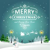 Christmas Background Greeting Card 02 — Stock Vector