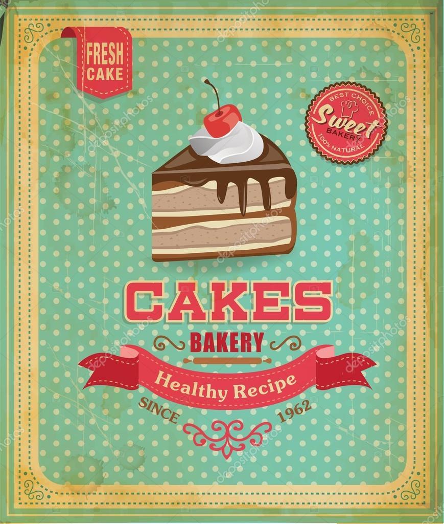 Cake Stand Retro