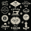 Vintage design elements. Set of retro labels, badges and icons — Stock Vector #49667849