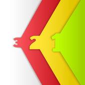 Vector Progress background. — Stock Vector