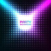 Shiny Disco Party Background Vector Design — Stock Vector