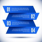 Banner Design template — Stock Vector