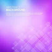 与透明正方形抽象粉红色背景. — 图库矢量图片