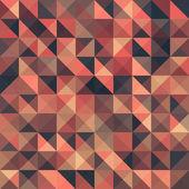 复古无缝三角抽象图案。矢量插画 — 图库矢量图片