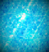 Blue abstract mosaic background. — Stock Vector