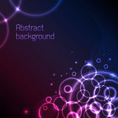 Abstract plasma background — Stock Vector