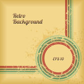 Retro Background Design. — Stock Vector