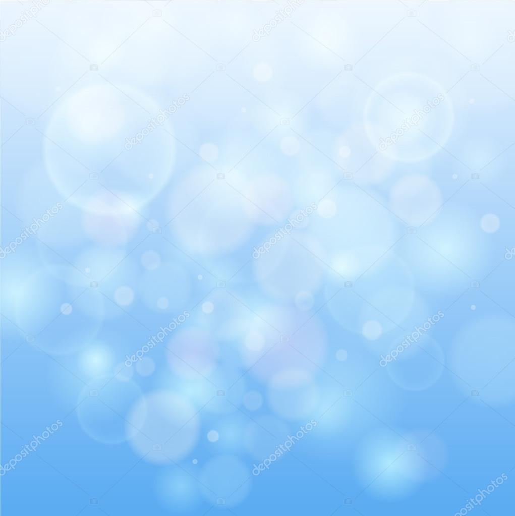 Blue Bokeh Lights Blue Bokeh Abstract Light