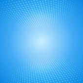 White and blue abstract background with squares — Vector de stock