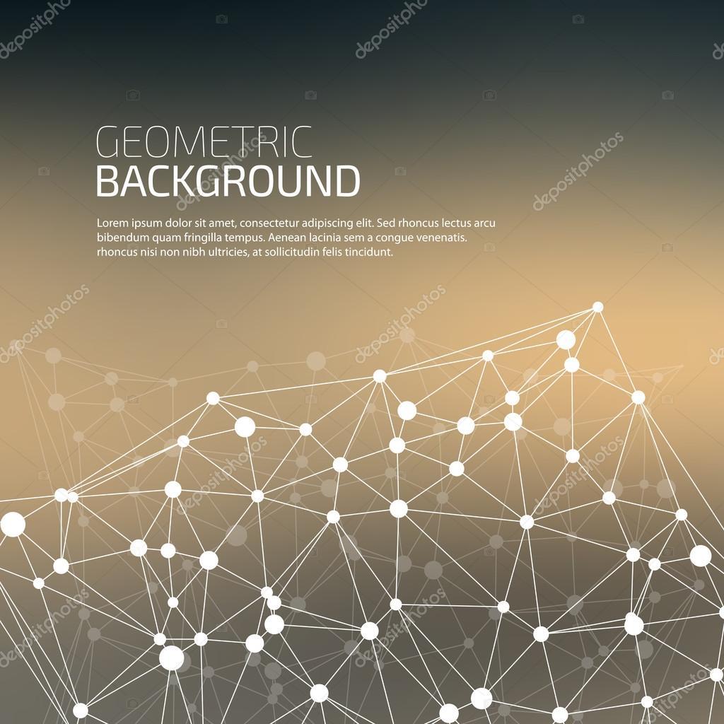 分子和通信背景 — 图库矢量图像08