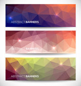 Abstract banners collection. — Stock Vector