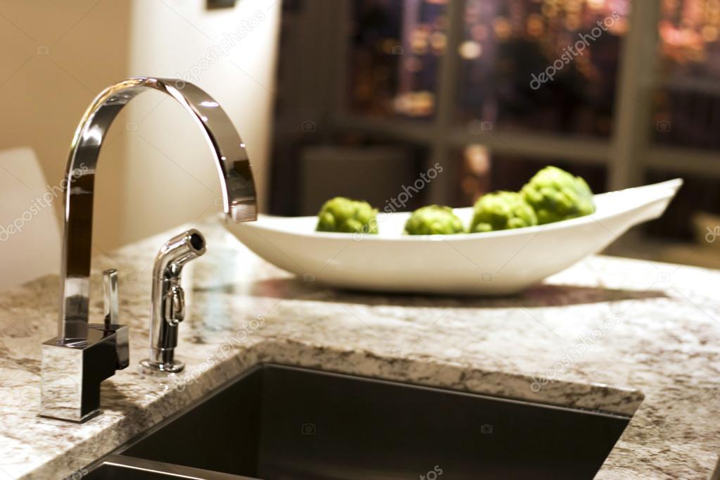 ultra moderne keuken  stockfoto © chughes, Meubels Ideeën