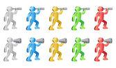 Human Icons — Stock Vector