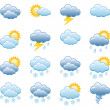 Stock Vector: Weather Icons set