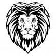 Lion Head — Vector de stock #15680381