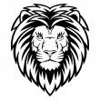 Lion Head — Vector de stock