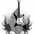 Guitar — Stock Vector
