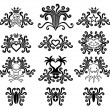 Royalty-Free Stock Vector Image: Tattoo set