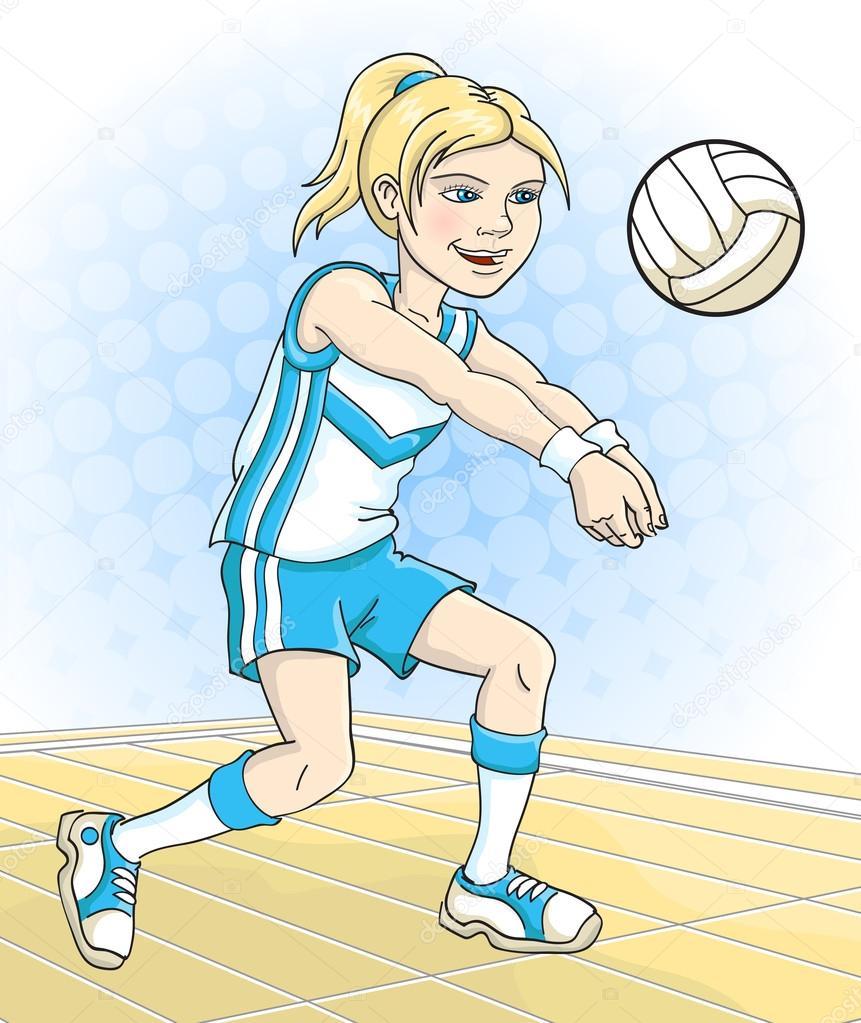 Картинки рисунок волейбол