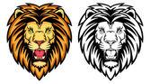Lion anger — Stok Vektör