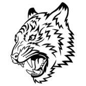 Tiger — Stock Vector