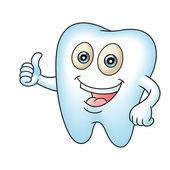 歯のマスコット — ストックベクタ